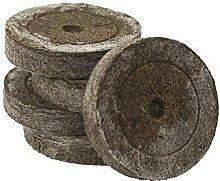 Cultivalley 1000Stk Qualitäts Torf-Quelltabletten