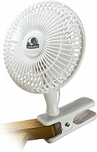 Cultivalley Clip Mini-Ventilator 15cm Durchmesser