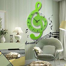 Cunclock Acryl kreative Wand Aufkleber Wanduhr