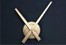 Cunclock Großer Zeiger 30 cm Metall Holz Textur