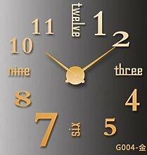 Cunclock Kreative Clock Groß Diy Spiegel Wanduhr