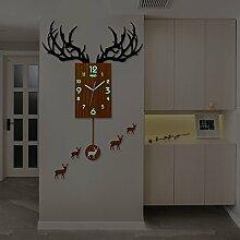 Cunclock Sehen Sie sich das Wohnzimmer Wanduhr