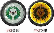 Cunclock Vintage Wanduhr Uhr Clock Nordic