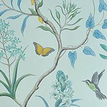 Cunguang Amerikanische Land Tapeten Frischen Garten Blumen Und Vögel Schlafzimmer Wohnzimmer Tv - Hintergrund Eingang Nicht Aus Stoff Tapeten 0 52 * 10 Ein