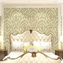 Cunguang Die Wand Im Wohnzimmer Aus Tapete Amerikanischen Wohnzimmer 3D 53Cm * 1000Cm E
