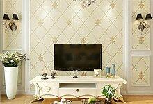 Cunguang Europäische Hintergrundbild Einfache Moderne Tv Im Hintergrund Wand Schlafzimmer 3D 3D Aus Stoff 53Cm * 1000Cm C