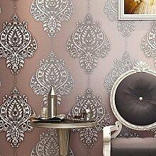 Cunguang Europäische Hochwertige Vlies Tapete Weichen Wohnzimmer Tv Hintergrund Wand 53Cm * 1000Cm Pink