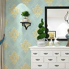 Cunguang Europäische Prägung Imitation Aus Einfachen Europäischen Style Bedroom Wohnzimmer Tv Hintergrund Tapete 53Cmx1000Cm Wathe