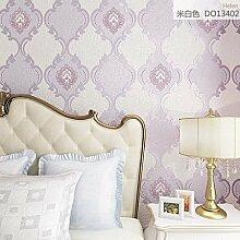 Cunguang Europäische Wohnzimmer Tapeten Aus Geweben Tv Hintergrund Wohnzimmer Schlafzimmer Atmungsaktive 53Cm * 1000Cm B