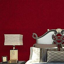 Cunguang Farbe Non Woven Tapeten Dunkelrot Modern Seide Wallcovering einfache Wand Papier für Wohnzimmer Schlafzimmer Einrichtung, United States