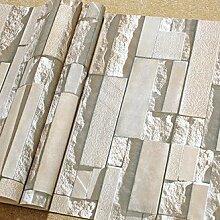 Cunguang Moderne Chinesische Simulation Brick Brick Muster 3D - Brick Tapeten Wohnzimmer Arbeitszimmer Zimmer Hotel Friseur Teehaus 3D - Tapete 0 52 * 10 C