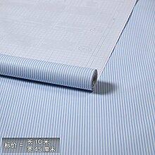 Cunguang natürliche Umweltschutz wasserfeste Selbstklebende Tapete 10 m * 0,45 m