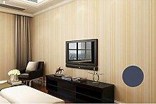Cunguang Umwelt Plain Wallpaper Einfache moderne mediterrane Vertikale Streifen Hintergrund Tapete Schlafzimmer Wohnzimmer 580501 5,3 qm.