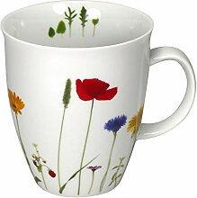 Cup und Mug Becher Naturwiese Blumen 400ml
