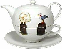 Cup und Mug Tea for One Edition Poller Schaf und