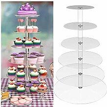 Cupcake-Ständer Etagere Tortenhalter rund Acryl