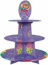 Cupcake-Ständer für Süßigkeiten-Partys