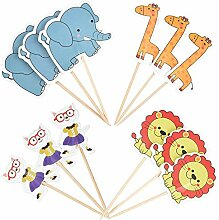 Cupcake-Topper Irich Baby Shower Cupcake-Picks mit