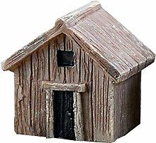 Cupcinu Mini Log House Miniatur Holz Fairy Garden