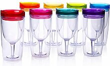 Cupture Insulated Wine Tumbler Cup With