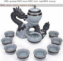 CUPWENH 11 Pcs/Viele Kreative Keramik Porzellan
