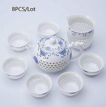 CUPWENH 8/9 Pc/Viele Kurze Openwork Keramik
