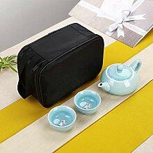 CUPWENH Chinese Travel Tee-Set Keramik