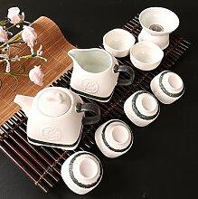 CUPWENH Chinesische Schnee Glasur Kung Fu