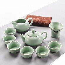 CUPWENH Der Kung - Fu - Teeservice Keramik
