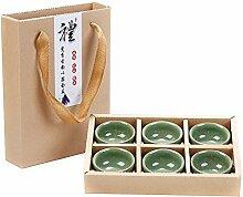 CUPWENH Jingdezhen Keramik - Kreativ - Cup, Teetasse, Kaffee, Kung - Fu - Teeservice, Teetasse, Geschenk - Cup,D,Tea Service, Coffee Se