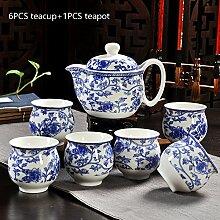CUPWENH Keramik Double Layer Vintage Chinesischem