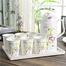 CUPWENH Keramik Kaffee Set, Cup, Teetasse,