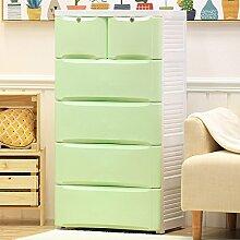 CUPWENH Schublade Typ Storage Cabinet, Baby