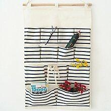 CUPWENH Speicher-Box/Lagerung Tasche Baumwolle Und