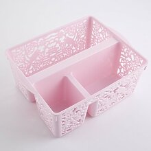 CUPWENH The Plastic Frame Basket Rectangular Box