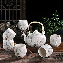 CUPWENH Töpfer Kit Becher Tsing Blumentöpfe Von Kaffee Große Dr Teekanne Home Geschenk Cool Wasserkocher Tea Service, Coffee Se