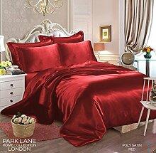 CURTAINS & LINENES 6-teiliges Bettwäsche-Set aus