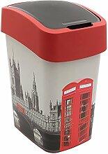 CURVER 02171-L11-03 Abfallbehälter London Deco