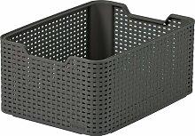 CURVER 18Liter Medium Kunststoff Style Box, braun