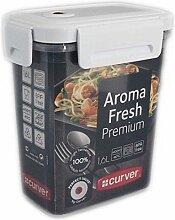 Curver Aroma Fresh Premium Frischhaltedose Vorratsdose Aufbewahrungsdose 1,6L mit Clipverschl