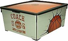 CURVER Aufbewahrungsbox Basketball 18,5L