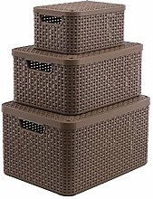 Curver Aufbewahrungsbox Style Box mit Deckel