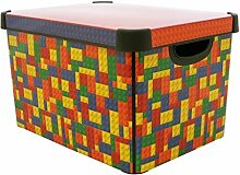 CURVER Deco Blocks Box 22L