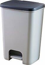 CURVER Essentials Treteimer, 20l, Kunststoff,