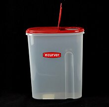 Curver Vorratsdose - Schüttdose mit Deckel, 1,5 Liter, Cerealienbox