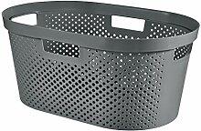 CURVER Wäschekorb Infinity Dots recycelt, 40 l
