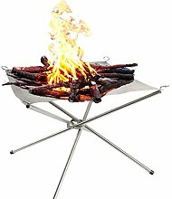 Cusfull Klappgrill Tragbarer Feuergrill