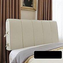 CUSHION Lederbett Rückenlehne/Nachttisch weiche