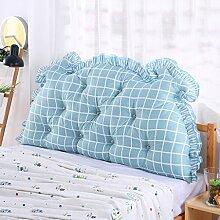 CUSHION MEILING Bedside Kissen Double Back Kissen Sofa Rückenlehne Triangle Lange Soft Bett Bett Kissen Baumwolle Taille (Farbe : 3, größe : 2m)