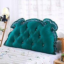 CUSHION MEILING Bedside Kissen Double Back Kissen Sofa Rückenlehne Triangle Lange Soft Bett Bett Kissen Baumwolle Taille (Farbe : 5, größe : 1m)